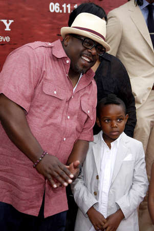 entertainer: Cedric the Entertainer at the Los Angeles premiere of The Karate Kid held at the Mann Village Theater in Westwood, USA on June 7, 2010.