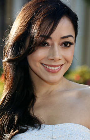 Aimee Garcia at the Los Angeles premiere of Sister Cities held at the Paramount Studios in Hollywood, USA on August 31, 2016.
