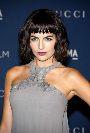 Camilla Belle at the LACMA 2013 Art + Film Gala Honoring Martin Scorsese And David Hockney Presented By Gucci held at the LACMA in Los Angeles, USA on November 2, 2013. Editorial