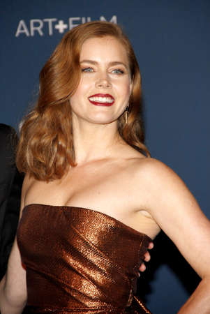 Amy Adams at the LACMA 2013 Art + Film Gala Honoring Martin Scorsese And David Hockney Presented By Gucci held at the LACMA in Los Angeles, USA on November 2, 2013. Editorial