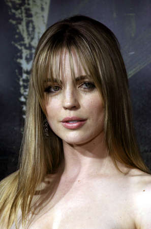 Melissa George at the Los Angeles premiere of The Amityville Horror held at the ArcLight Cinerama Dome in Hollywood, USA on April 7, 2005.