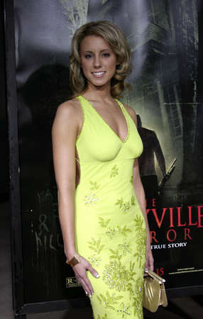 Cheryl Campbell at the World premiere of Amityville Horror held at the Arclight Cinerama Dome in Hollywood, USA on April 7, 2005.