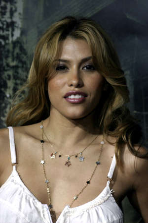 Rachel Sterling at the Los Angeles premiere of The Amityville Horror held at the ArcLight Cinerama Dome in Hollywood, USA on April 7, 2005.