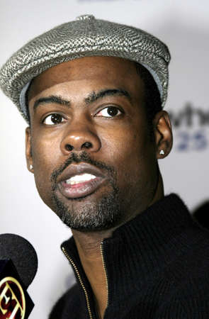Chris Rock at the Los Angeles premiere of Guess Who held at the Graumanns Chinese Theatre in Hollywood, USA on March 13, 2005. Editorial