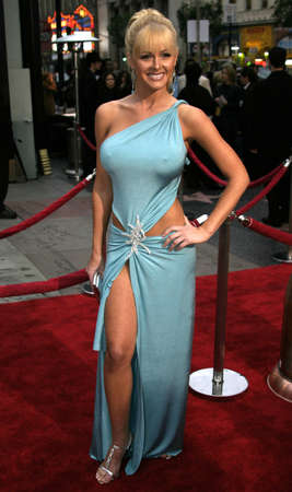 Katie Lohmann at the Los Angeles premiere of Guess Who held at the Graumanns Chinese Theatre in Hollywood, USA on March 13, 2005.