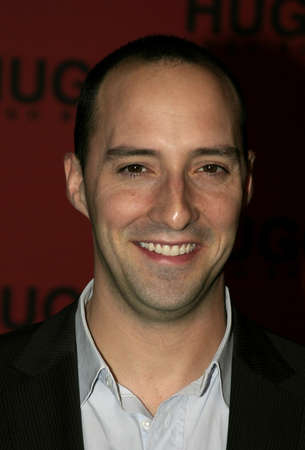 Tony Hale at the Hugo Boss Fall Winter 2005 Mens and Womens Collections Party and Fashion Show held at the Beverly Hills Hotel in Beverly Hills, USA on March 15, 2005. Editorial