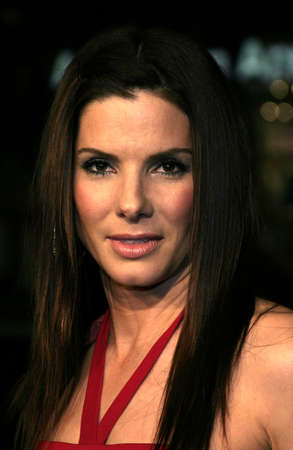Sandra Bullock at the Los Angeles premiere of Miss Congeniality 2: Armed and Fabulous held at the Graumans Chinese Theatre in Hollywood, USA on March 23, 2005. Editorial