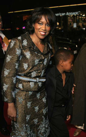 Regina King at the Los Angeles premiere of Miss Congeniality 2: Armed and Fabulous held at the Graumans Chinese Theatre in Hollywood, USA on March 23, 2005.
