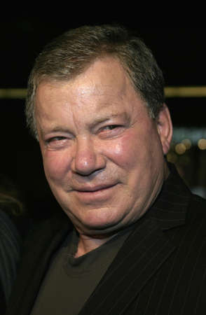 William Shatner at the Los Angeles premiere of Miss Congeniality 2: Armed and Fabulous held at the Graumans Chinese Theatre in Hollywood, USA on March 23, 2005.