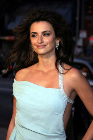 Penelope Cruz at the Los Angeles premiere of Sahara held at the Graumans Chinese Theater in Hollywood, USA on April 4, 2005.