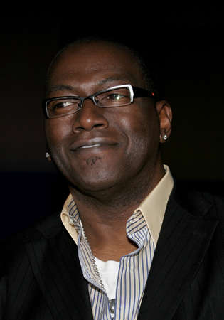 Randy Jackson at the Amberwatch Foundation Launch Party held at the Globe Theatre in Universal City, USA on April 25, 2006. Editorial