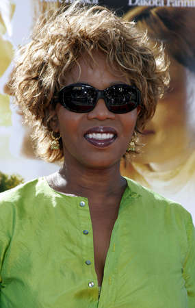 Alfre Woodard at the Los Angeles premiere of Dreamer held at the Mann Village Theatre in Westwood, USA on October 9, 2005. Editorial