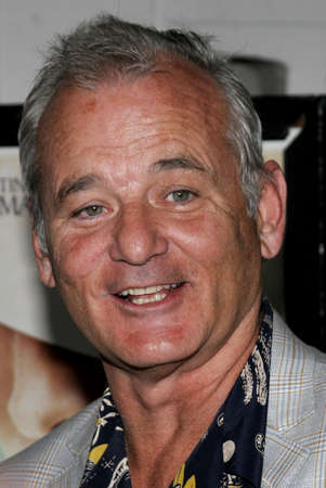 Bill Murray at the Los Angeles premiere of The Lost City held at the Arclight Cinemas in Hollywood, California, United States on April 17, 2006. Editorial