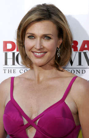 Brenda Strong at the Desperate Housewives: Extra Juicy Edition Season 2 DVD Launch held at the Wisteria Lane Universal Studios in Hollywood, USA on August 5, 2006.