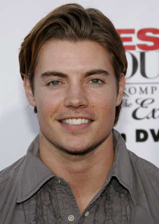 Josh Henderson at the Desperate Housewives: Extra Juicy Edition Season 2 DVD Launch held at the Wisteria Lane Universal Studios in Hollywood, USA on August 5, 2006.