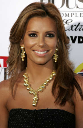 Eva Longoria at the Desperate Housewives: Extra Juicy Edition Season 2 DVD Launch held at the Wisteria Lane Universal Studios in Hollywood, USA on August 5, 2006. 에디토리얼