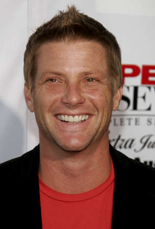 savant: Doug Savant at the Desperate Housewives: Extra Juicy Edition Season 2 DVD Launch held at the Wisteria Lane Universal Studios in Hollywood, USA on August 5, 2006.