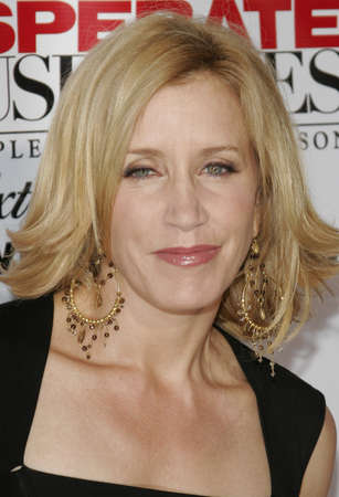 felicity: Felicity Huffman at the Desperate Housewives: Extra Juicy Edition Season 2 DVD Launch held at the Wisteria Lane Universal Studios in Hollywood, USA on August 5, 2006.