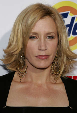 Felicity Huffman at the Desperate Housewives: Extra Juicy Edition Season 2 DVD Launch held at the Wisteria Lane Universal Studios in Hollywood, USA on August 5, 2006.