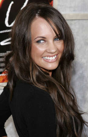 Samantha Jade Gibbs at the Los Angeles premiere of Step Up held at the Arclight Theater in Hollywood, USA on August 7, 2006.