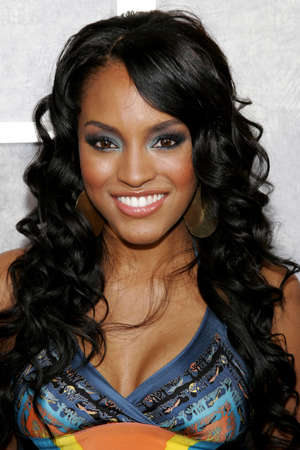 Drew Sidora at the Los Angeles premiere of Step Up held at the Arclight Theater in Hollywood, USA on August 7, 2006. Editorial