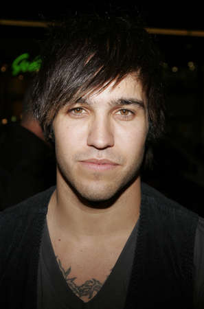 pete: Pete Wentz of Fall Out Boy at the Los Angeles premiere of Snakes on a Plane held at the Graumans Chinese Theatre in Hollywood, USA on August 17, 2006.