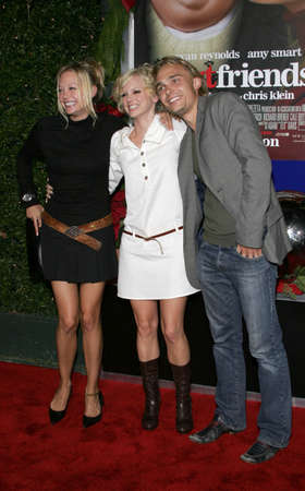 premiere: Alexandra Holden, Anna Faris and Joey Kern at the Los Angeles premiere of Just Friends Premiere at the Mann Village Theatre in Westwood, USA on November 14, 2005. Editorial