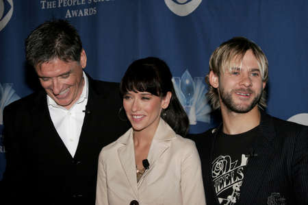 nominations: Craig Ferguson, Jennifer Love Hewitt and Dominic Monaghan at the 32nd Annual Peoples Choice Awards Nominations held at the Hollywood Roosevelt Hotel in Hollywood, USA on November 10, 2005. Editorial