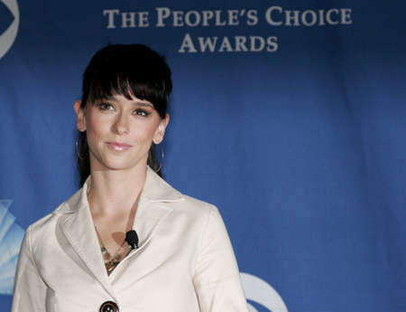 Jennifer Love Hewitt at the 32nd Annual Peoples Choice Awards Nominations held at the Hollywood Roosevelt Hotel in Hollywood, California, United States on November 10, 2005.