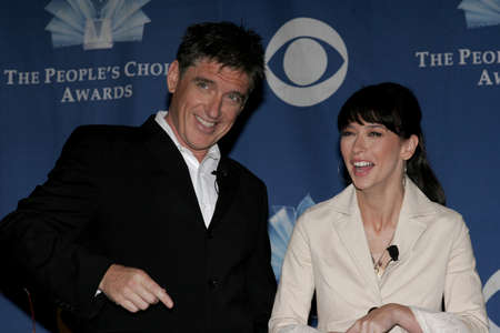 nominations: Craig Ferguson and Jennifer Love Hewitt at the 32nd Annual Peoples Choice Awards Nominations at the Hollywood Roosevelt Hotel in Hollywood, USA on November 10, 2005.
