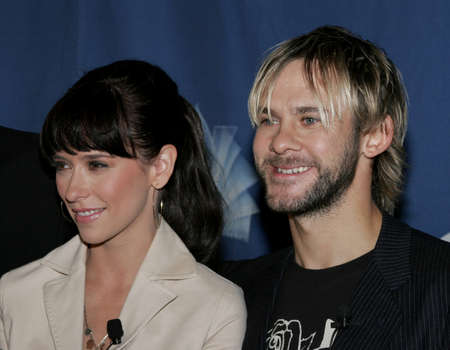 nominations: Jennifer Love Hewitt and Dominic Monaghan at the 32nd Annual Peoples Choice Awards Nominations at the Hollywood Roosevelt Hotel in Hollywood, USA on November 10, 2005.