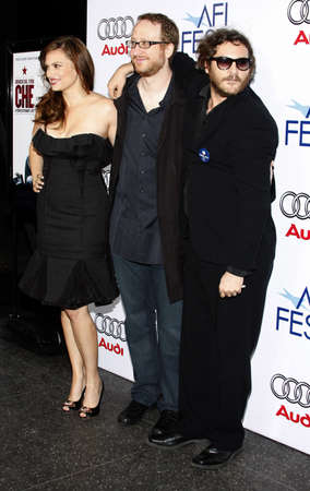 joaquin: Joaquin Phoenix and Vanessa Shaw at the 2008 AFI FEST Los Angeles premiere of CHE held at the Graumans Chinese Theater in Hollywood, USA on November 1, 2008.