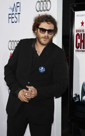 joaquin: Joaquin Phoenix at the 2008 AFI FEST Los Angeles premiere of CHE held at the Graumans Chinese Theater in Hollywood, USA on November 1, 2008. Editorial