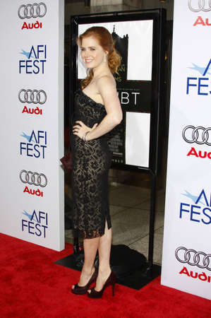 adams: Amy Adams at the 2008 AFI FEST Opening Night Gala Presentation of Doubt held at the ArcLight Theater in Hollywood, USA on October 30, 2008.