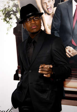 Ne-Yo at the World premiere of Death At A Funeral held at the Arclight Cinerama Dome in Hollywood, California, United States on April 12, 2010.