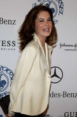 Lara Flynn Boyle at the 30th Carousel of Hope Ball held at the Beverly Hilton Hotel in Beverly Hills, USA on October 25, 2008.