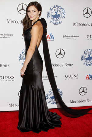 Katharine McPhee at the 30th Carousel of Hope Ball held at the Beverly Hilton Hotel in Beverly Hills, USA on October 25, 2008.