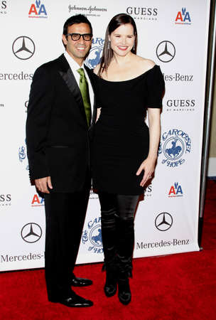 Geena Davis at the 30th Carousel of Hope Ball held at the Beverly Hilton Hotel in Beverly Hills, USA on October 25, 2008.
