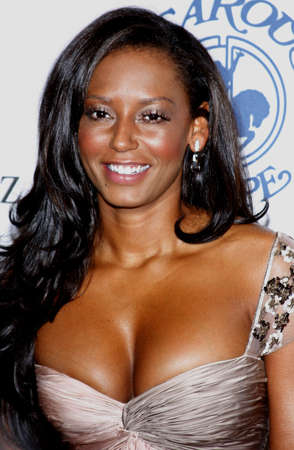Mel B aka Melanie Brown at the 30th Carousel of Hope Ball held at the Beverly Hilton Hotel in Beverly Hills, USA on October 25, 2008.
