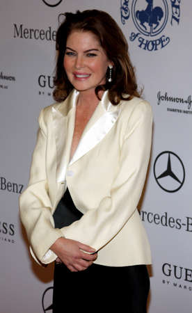 Lara Flynn Boyle at the 30th Anniversary Carousel Of Hope Ball held at the Beverly Hilton Hotel in Beverly Hills, USA on October 25, 2008.