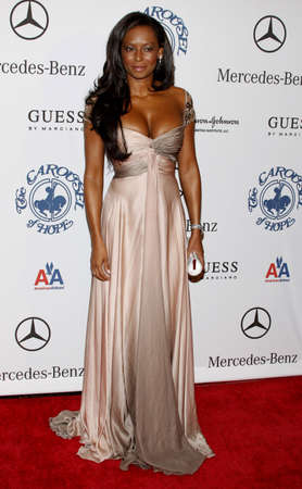 mel: Melanie Brown aka Mel B at the 30th Anniversary Carousel Of Hope Ball held at the Beverly Hilton Hotel in Beverly Hills, USA on October 25, 2008.