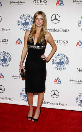 Nicky Hilton at the 30th Anniversary Carousel Of Hope Ball held at the Beverly Hilton Hotel in Beverly Hills, USA on October 25, 2008. 新闻类图片