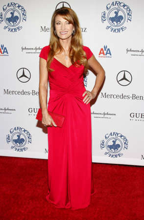 jane: Jane Seymour at the 30th Anniversary Carousel Of Hope Ball held at the Beverly Hilton Hotel in Beverly Hills, USA on October 25, 2008.