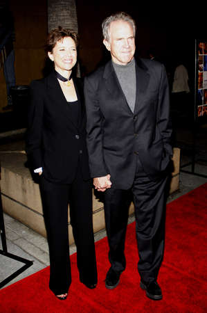 warren: Annette Bening and Warren Beatty at the Los Angeles premiere of Mother and Child held at the Egyptian Theater in Hollywood, USA on April 19, 2010.