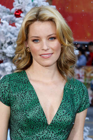 Elizabeth Banks at the Los Angeles premiere of Fred Clause held at the Graumans Chinese Theater in Hollywood, USA on November 3, 2007.