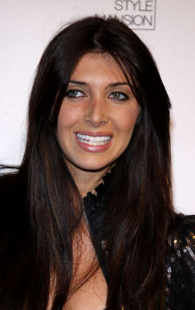 Brittny Gastineau at the Scandinavian Style Mansion held at the Private Residence in Bel Air, California, United States on December 1, 2007.