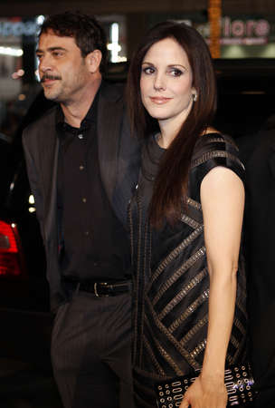 Jeffrey Dean Morgan and Mary-Louise Parker at the Los Angeles premiere of P.S. I Love You held at the Graumans Chinese Theater in Hollywood, USA on December 9, 2007. Editorial