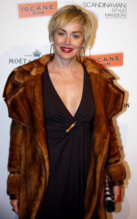 Sharon Stone at the Scandinavian Style Mansion held at the Private Residence in Bel Air, USA on December 1, 2007. Editorial
