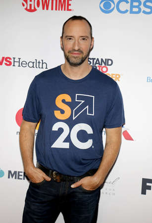 hale: Tony Hale at the 5th Biennial Stand Up To Cancer held at the Walt Disney Concert Hall in Los Angeles, USA on September 9, 2016. Editorial