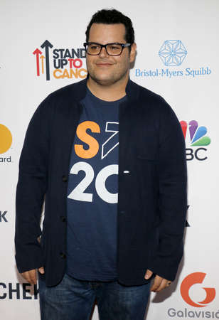 gad: Josh Gad at the 5th Biennial Stand Up To Cancer held at the Walt Disney Concert Hall in Los Angeles, USA on September 9, 2016.
